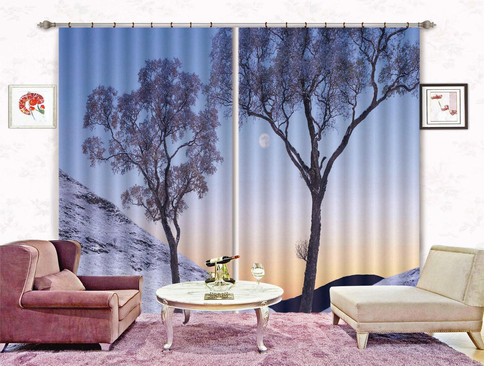 3d Hang ALBERO 4164 blocco foto sipario pressione sipario tende tessuto finestra de