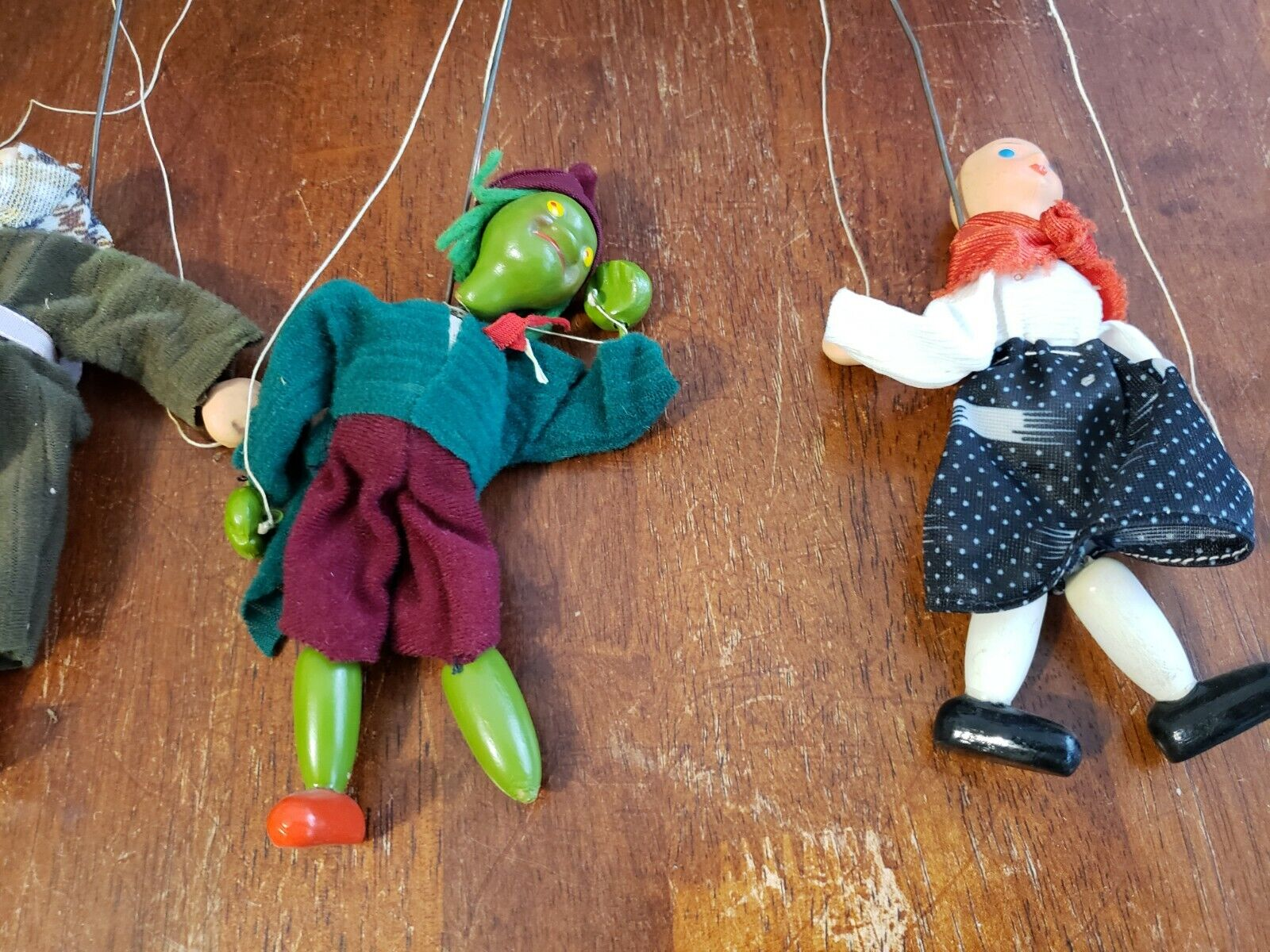 Vintage Fantasy Puppets marionette Theatre Theatre Theatre 3a0137