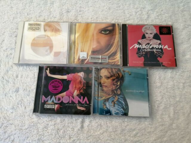 MADONNA CD audio album bundle Ray of light-Greatest hits volume 2-Confessions on