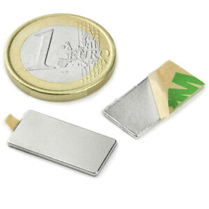 Super Magnete Parallelepipedo In Neodimio Autoadesivo 20 X 10 X 1 Mm. 900 Gr. 3m Dccknpeg-08011604-681198040