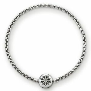 KA0002-New-Genuine-Thomas-Sabo-Darkened-Sterling-Silver-Karma-Bead-Bracelet-59
