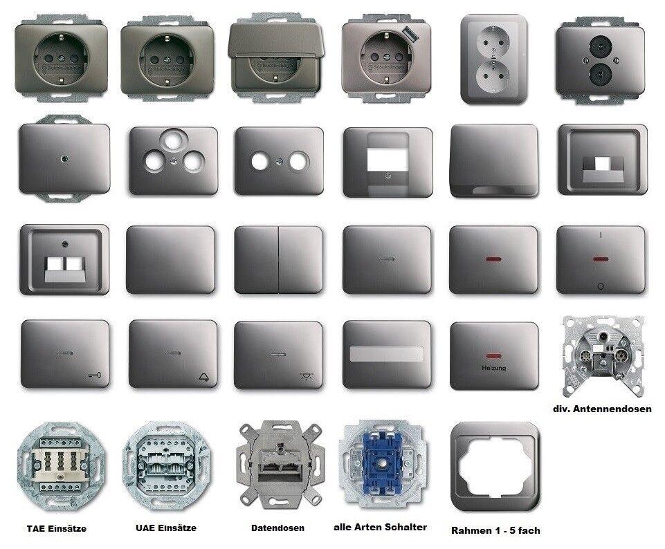 Busch Jaeger Artikel alpha nea    platin ( 20 ), Sie haben die Wahl  | Reichhaltiges Design