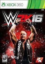 WWE 2K16 RE-SEALED Microsoft Xbox 360 WRESTLING GAME 2016 16