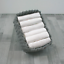 White MuslinZ Baby Muslin Squares Pack of 6