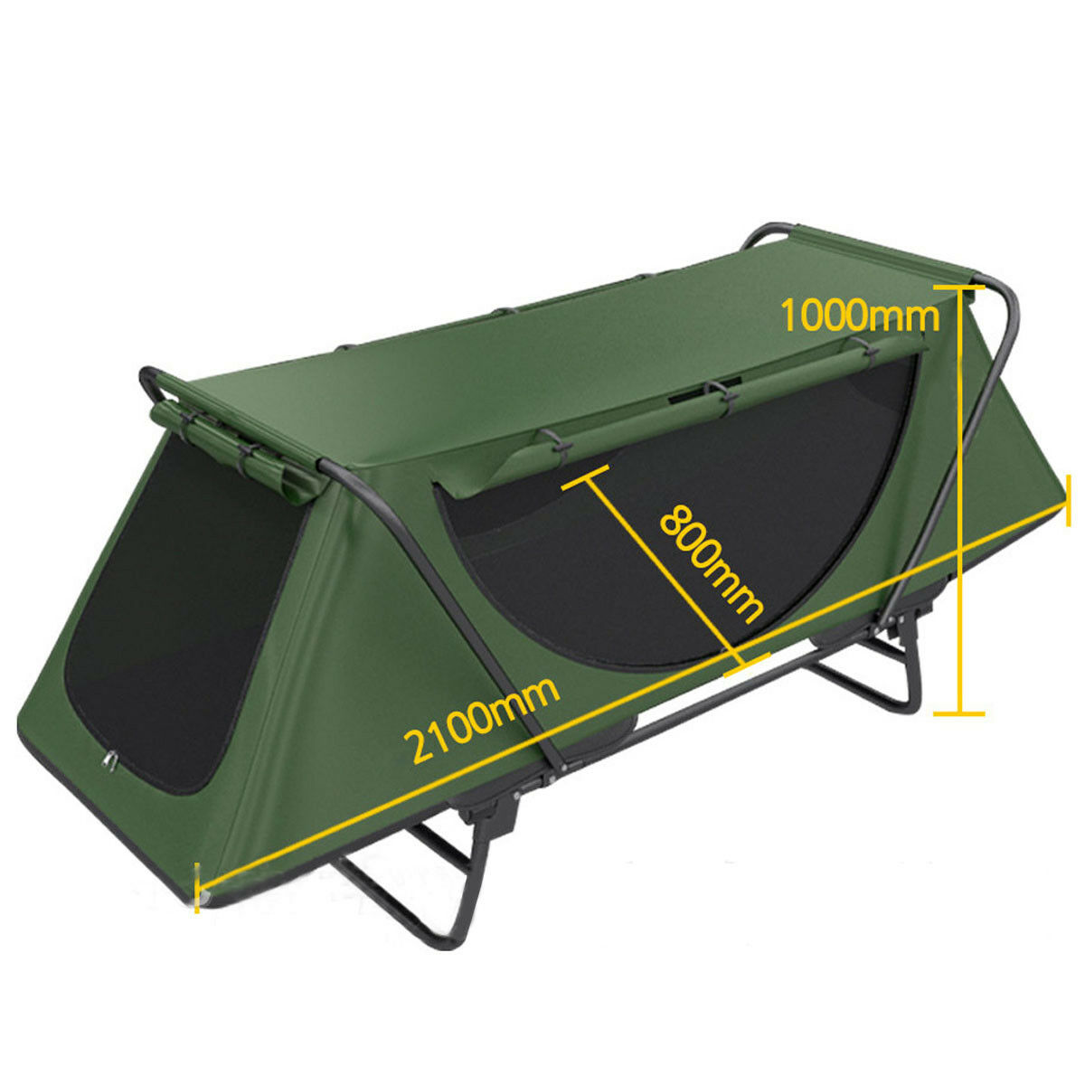 1 Person  Folding Camping Tent Waterproof Multipurpose Cot Outdoor Sleeping Bed  authentic