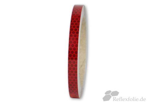 x 10mm 3M™ Reflexband 823i RA2 Reflexfolie rot reflektierend selbstklebend lfm