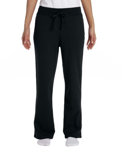 Gildan Heavy Blend Womens Open Bottom Sweatpants S-2XL 18400FL-G184FL