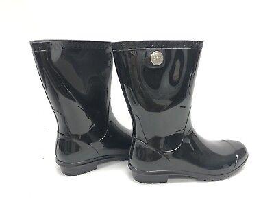 6b35d661b7f Ugg Australia Sienna Women's Boots Rain Rubber Boots Black 1014452  Rainboots | eBay