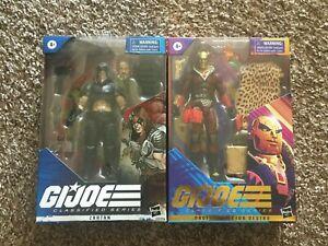 "G.I. Joe Classified Zartan and Profit Director Destro 6"" Figures"