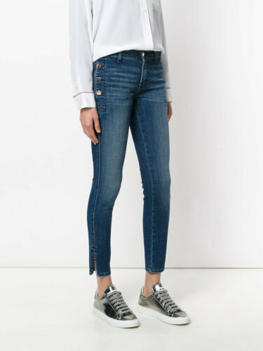 NWT J Brand Zion Mid-Rise Skinny with Button Pockets Cover Size 25 26 $228