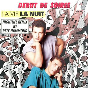 Debut-De-Soiree-Maxi-CD-3-034-La-Vie-La-Nuit-CBS-654502-3-Austria-M-M