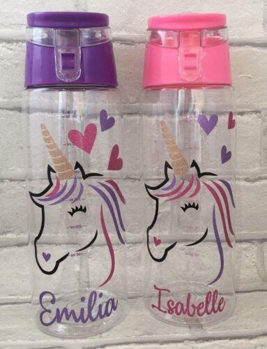 Nommé-paillettes Unicorn Head Eau//Boisson Bouteille 700 ml