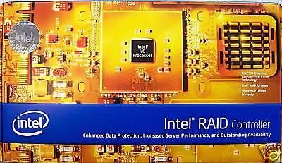 Intel SRCSAS18E SATA//SAS PCIe RAID Controller  Tested refurbished board only