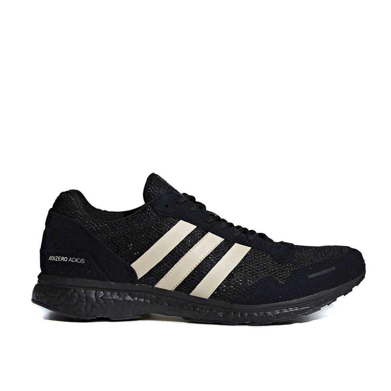 Mens Adidas AdiZero Adios 3 UNDEFEATED Black B22483