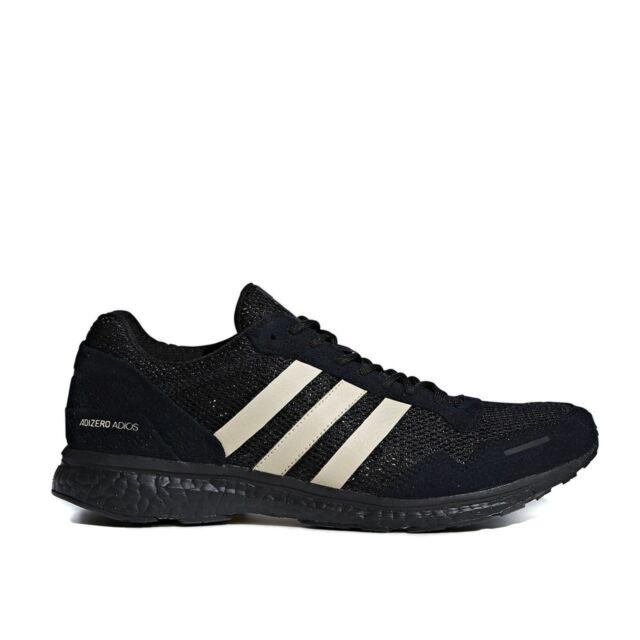 free shipping 9902e 37b83 Mens Adidas AdiZero Adios 3 UNDEFEATED Black B22483