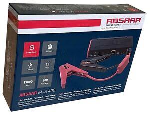 Absaar® MJS 400 Schnellstartsystem 145005 Jump Starter 13800mAh Powerboost NEU