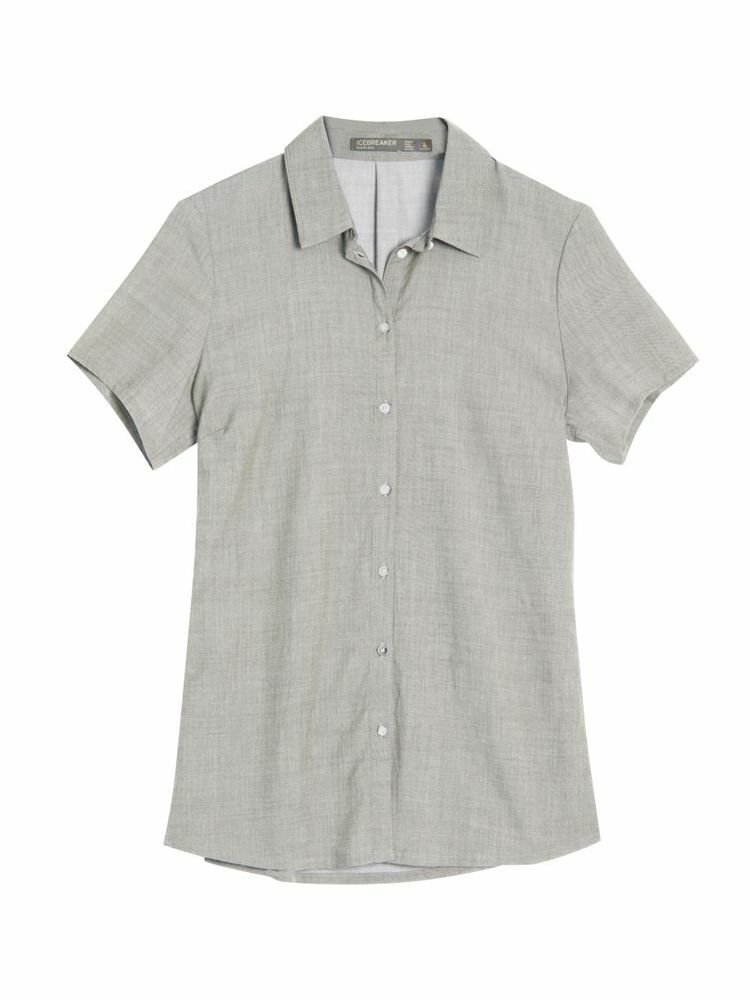 Icebreaker Kala SS Shirt Cool-Lite Cooling Short Sleeve-Functional Blouse daSie Reading
