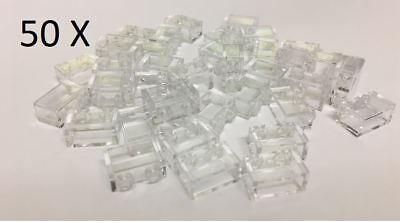 1 X 2 Trans Clear 25 X Bricks of Part 3065 MOC LEGO® Brick