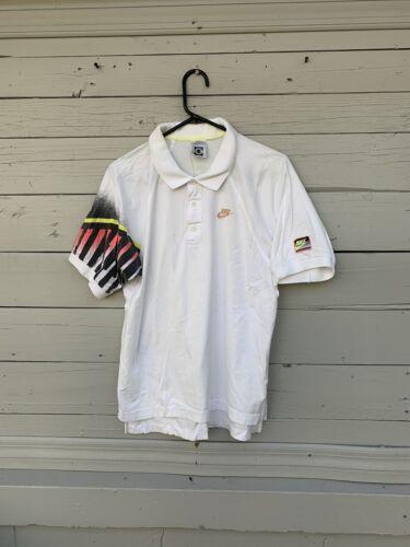 Rare Vintage Nike Challenge Court Agassi Shirt Siz