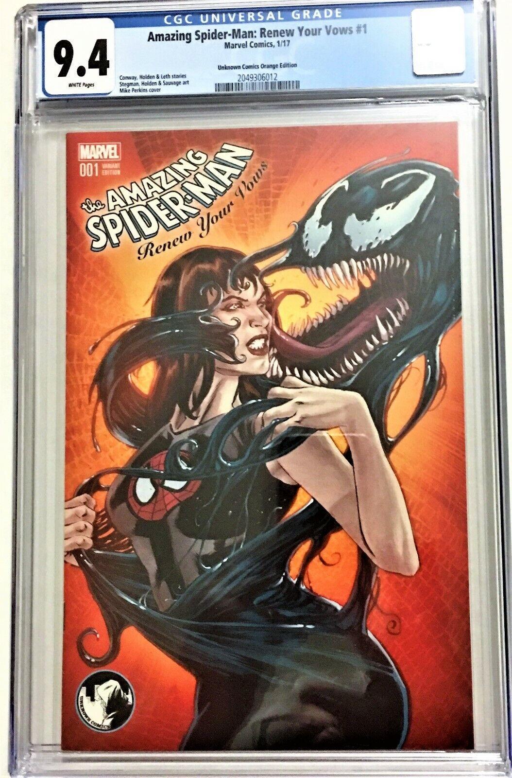 Amazing Spider-Man Renew Your Vows #5 Venomized Variant  Marvel Comics CB17151