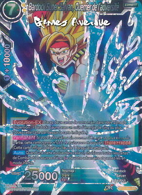 Desperate Warrior Super Saiyan Bardock BT3-084 SR Dragon Ball Super TC