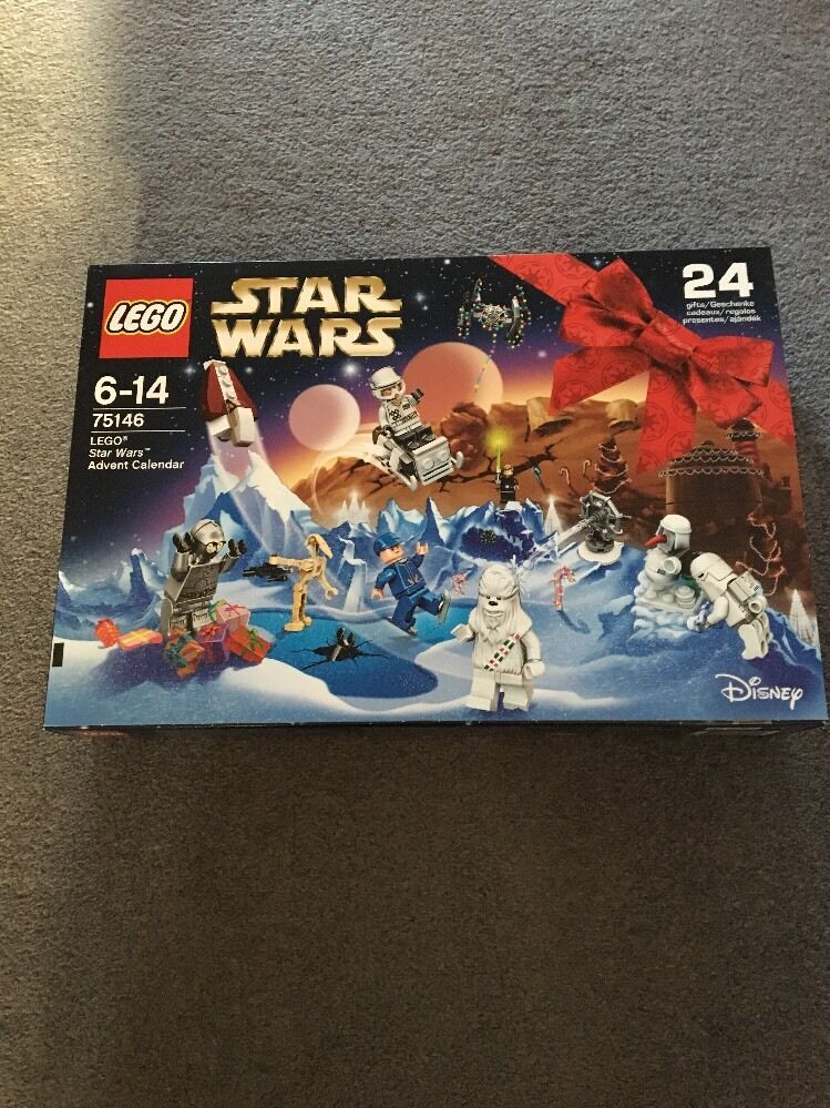2016  LEGO Star  Wars = Advent Calendar 75146 Christmas Set  NEW ,  Sealed