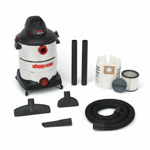 Shop-Vac 598-63-00 - Black/Silver - Wet/Dry Cleaner