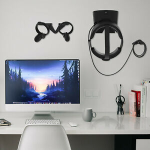Wandhalterung-Helm-Griffe-Halter-Haken-fuer-Oculus-Rift-S-Virtual-Reality-Teile