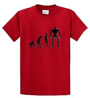 The Evolution of Terminator T-Shirt Red