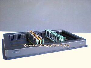 New fits 50 Desktop PC or 100 Laptop Modules PC RAM Memory Tray Case Qty 5