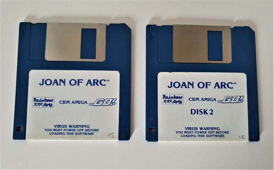 ** SOLGT ** Jeanne d'Arc - Maid Of Orleans, Amiga 500