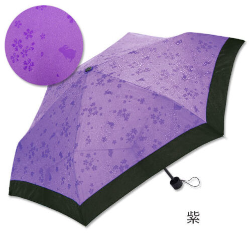 3 Different Colors Japanese Umbrella With Water MAGIC folding type