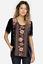 JOHNNY-WAS-Velvet-MATILDA-Embroidered-JWLA-Tee-Shirt-Tunic-Blouse-S-258 thumbnail 1