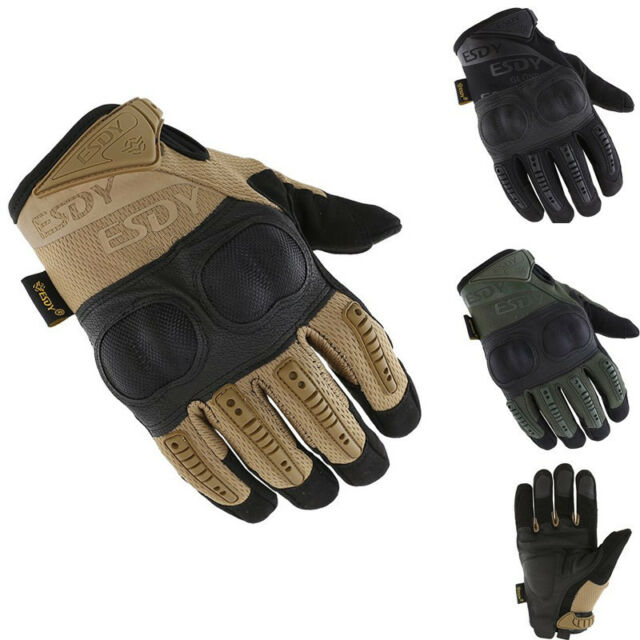 Olive SPLAV Russian Army Military Tactical Half Finger Gloves «RAGE» Black