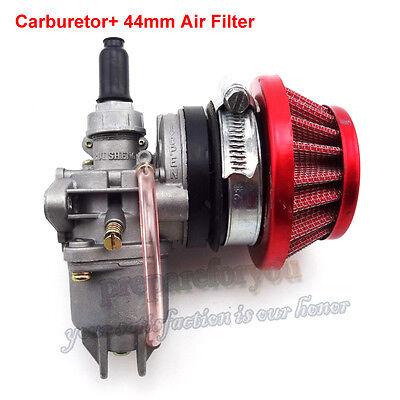 Carburetor Carb Carby Air Filter Stack Mini Moto ATV Dirt Pocket Bike 47cc 49cc