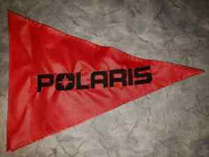 Details about Custom POLARIS triangle ATV Safety Replacement Whip Flag   Great 4 Jeep UTV Trike
