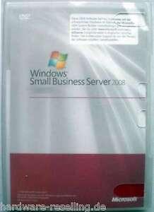 MS-Windows-Small-Business-Server-2008-Premium-mit-5-CAL-SQL-2008-2005-FSC