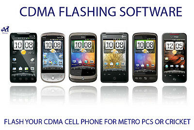 CDMA OR ANDROID PHONE FLASHING SOFTWARE ( METRO PCS OR CRICKET) | eBay