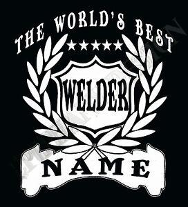 Welder-Camiseta-Personalizado-Anadir-Nombre-Regalo-Ideal-a-medida-METAL