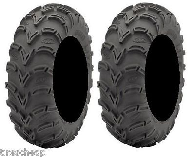 TWO ( 2 )  23X8-10  AMERICAN MADE ITP MUD LITE ATV TIRES NEW - MADE IN USA
