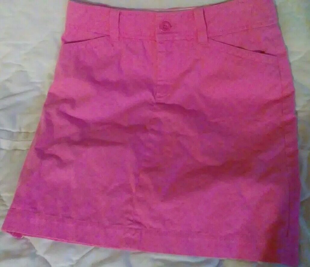 Lilly Pulitzer Pink Skirt Sz 0 Adorable