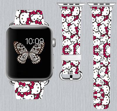 Hello Kitty Apple Watch Band 38 40 42 44 mm IWatch
