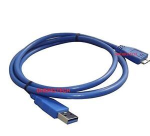 Details about USB 3 0 DATA CABLE FOR WD Western Digital -My Cloud Mirror  External Hard Drive