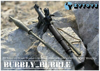 1/6 Scale Zy Toys Soldiers Model Antitank Bazooka Rpg-7 Wwc Weapon Ship From Usa