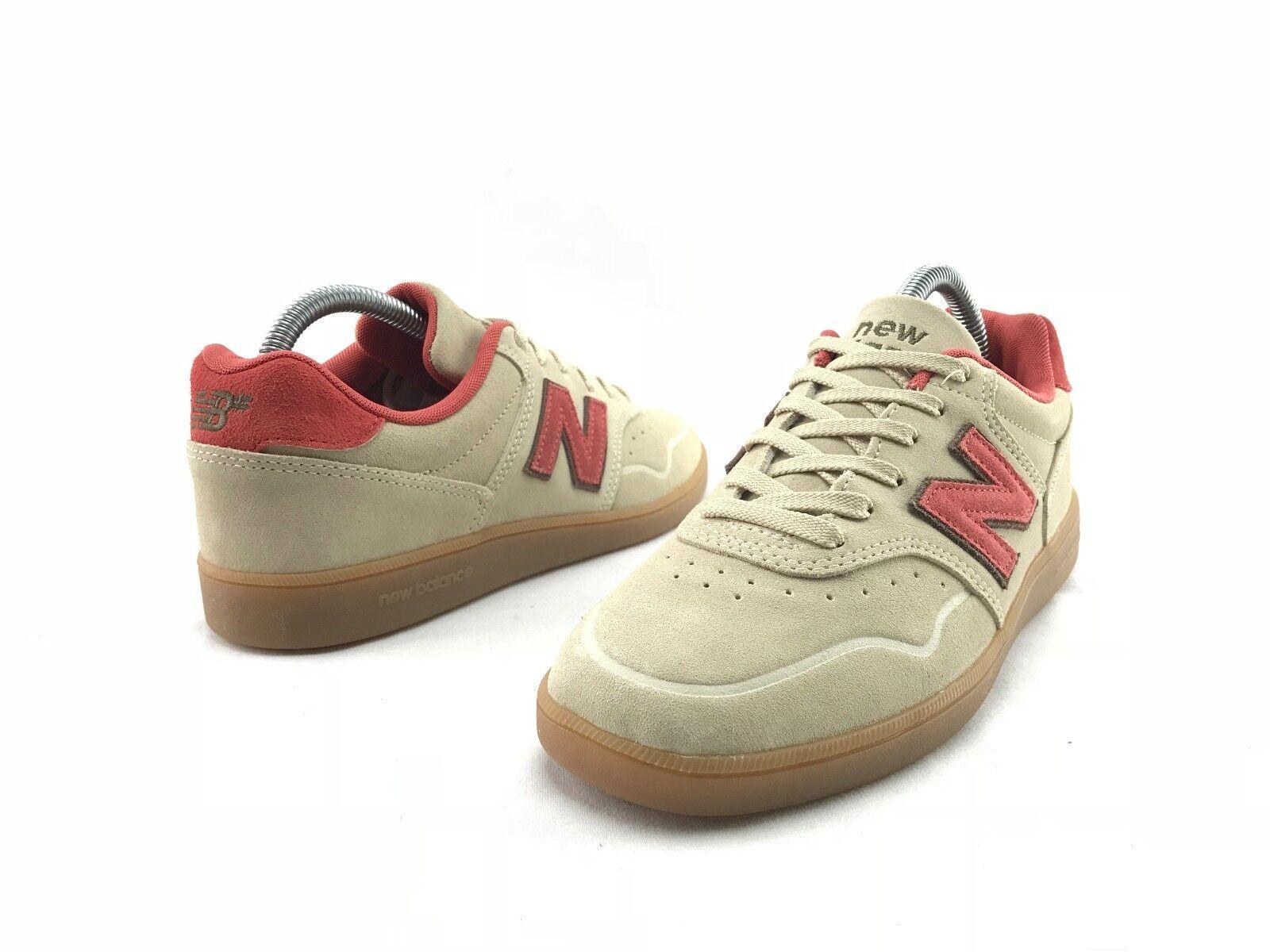 Nuovo equilibrio 288 classici uomini allacciarsi le scarpe beige da ginnastica ci beige scarpe 7,5 7 d scarpe b710 186a05