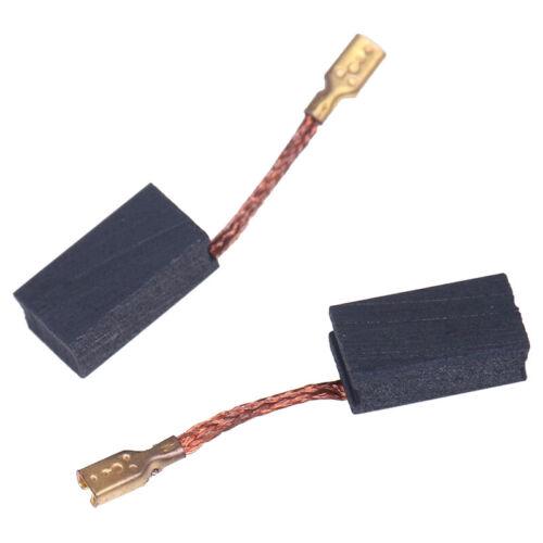2pcs//lot  6x 9 x 15mm Angle Grinder Carbon Brush Replacement Spare Parts JU