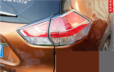 Chrome Rear Light Cover Trim for 2014-2016 Nissan X-Trail Rogue Taillight