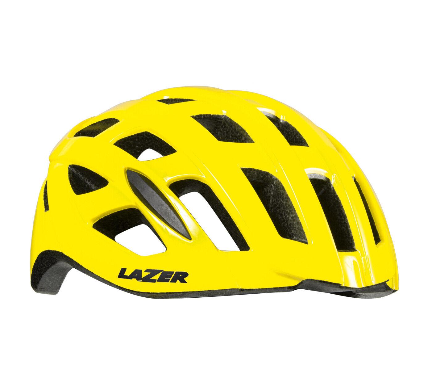 Lazer TONIC Road Cycling Bicycle Adult Bike Helmet   FLASH YELLOW