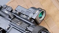 MEPROLIGHT M21 4.3 MOA Reticle FREE MAGPUL Gift Red Dot Sight Fiber Optic MEPRO