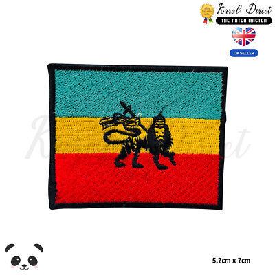 À faire soi-même Bob Marley Reggae Feuille Emblème Coudre Iron-on brodé appliqué patch badge